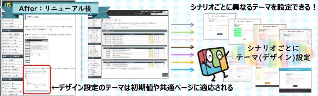 新:登録フォームテーマの設定